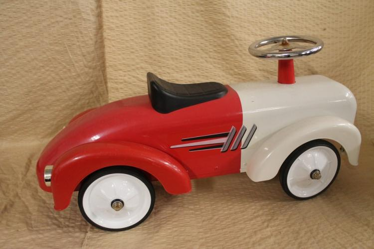 Modern pedal car