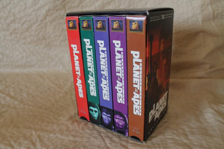 Planet of the Apes collectors edition box set