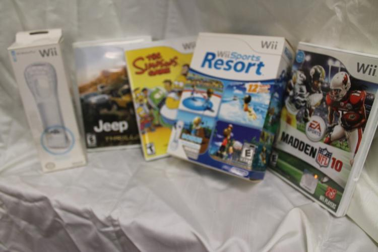 Lot of Wii games and accessories