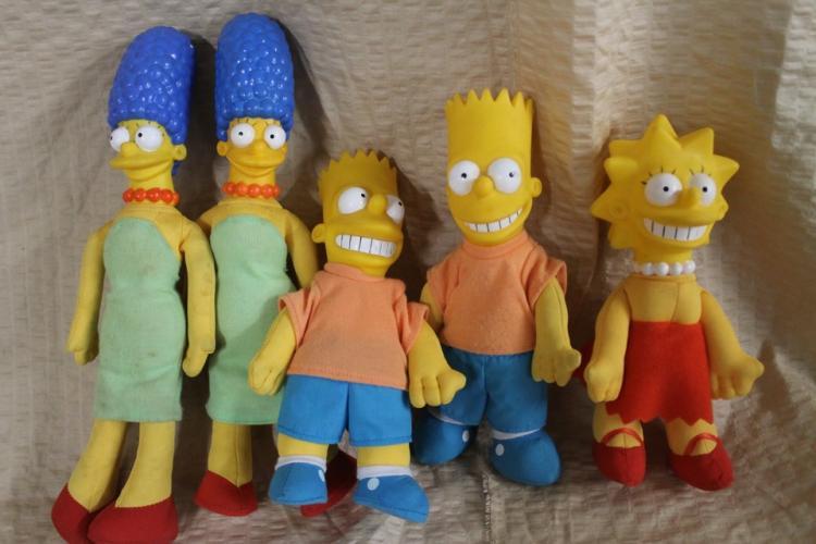 Simpsons toy lot