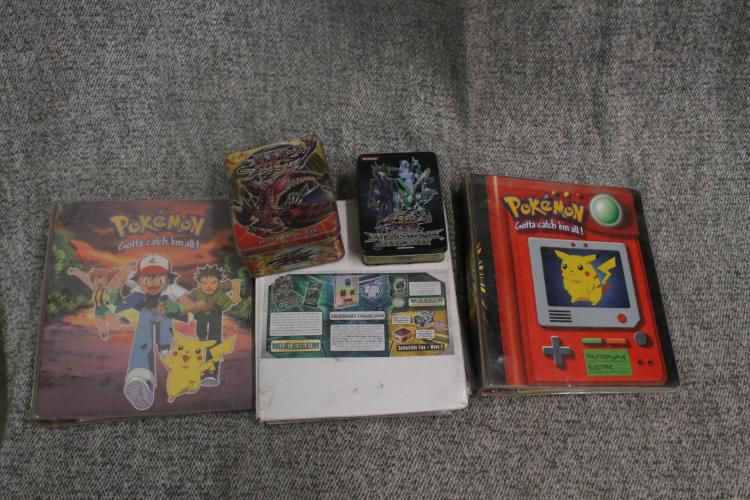 Yu-Gi-Oh and Pokemon card lot