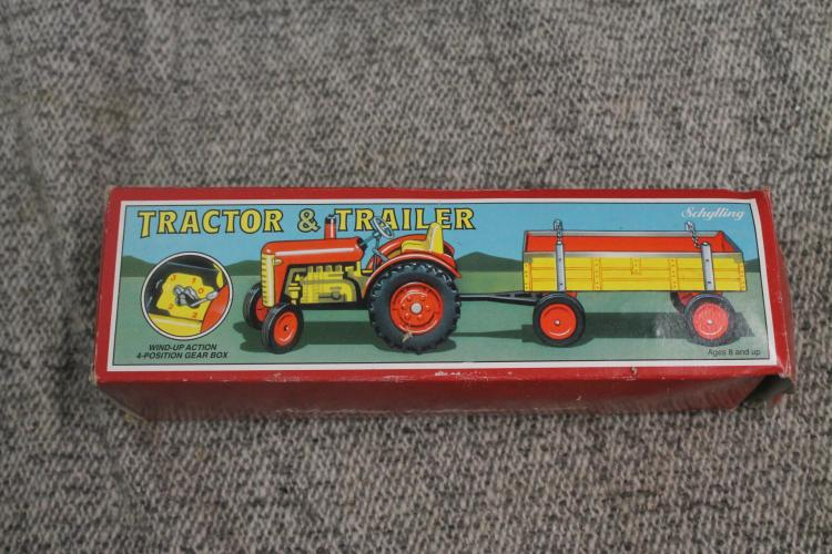 Tractor and trailer by Schylling