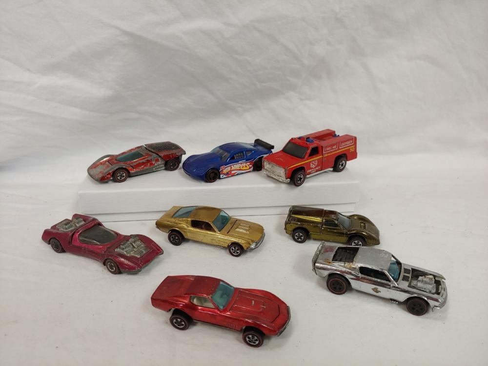 Hot Wheels Red-Line Grouping