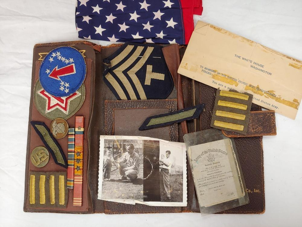 World War Two Honorable Discharge Kit
