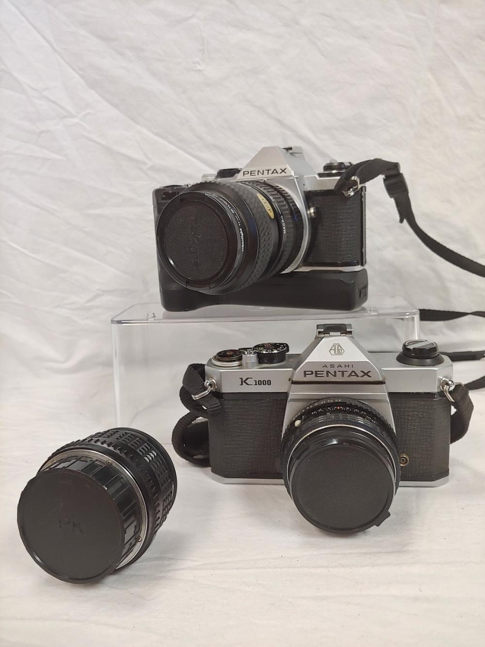 Two Pentax cameras