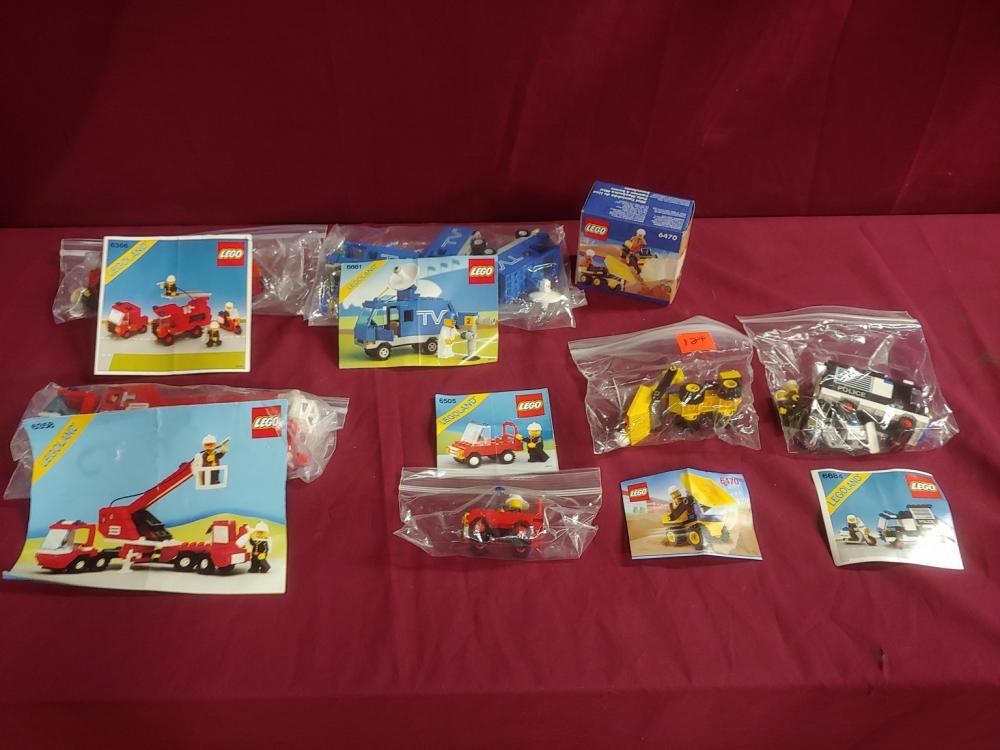 Lego First Responders and Construction Collection