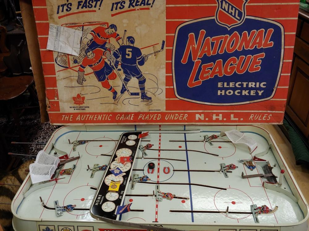 NHL National League Electric Hockey Game