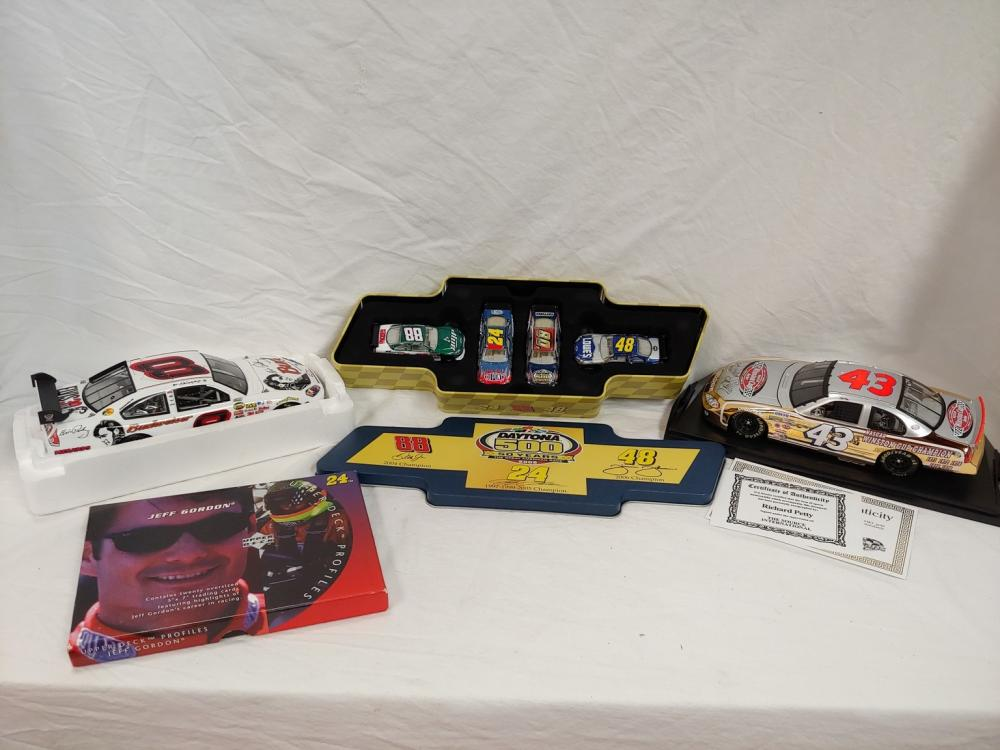 Lot of 4 NASCAR Collectibles