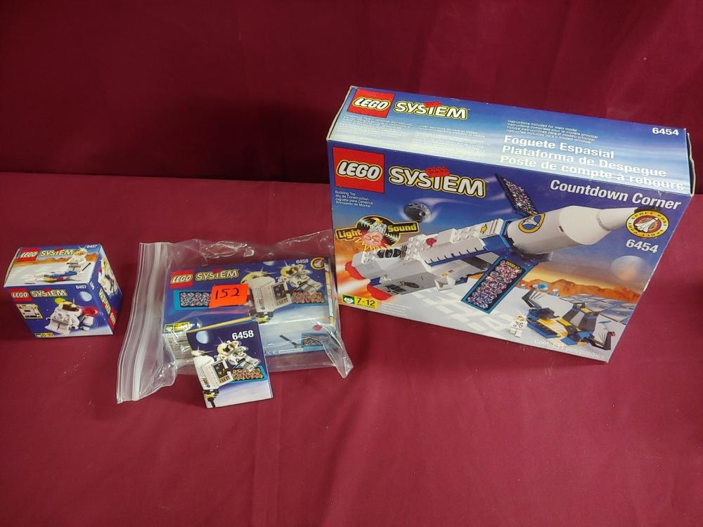 3 Lego System sets in box
