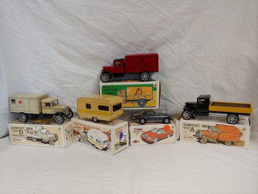 Collection of Five Tin Toys