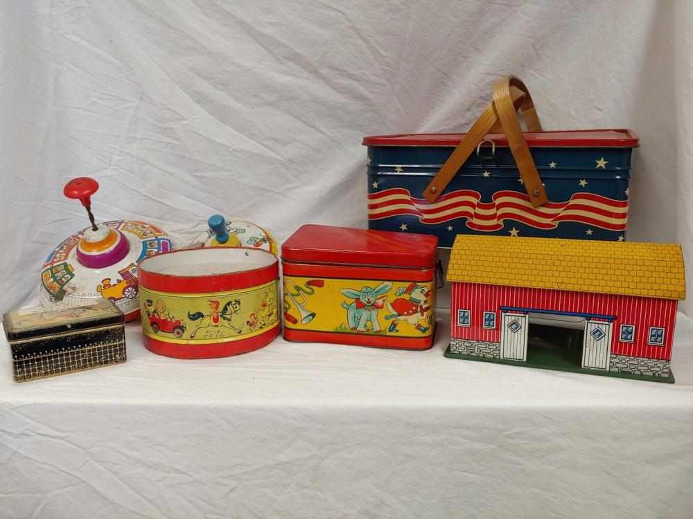 Tin Toy and More Collection