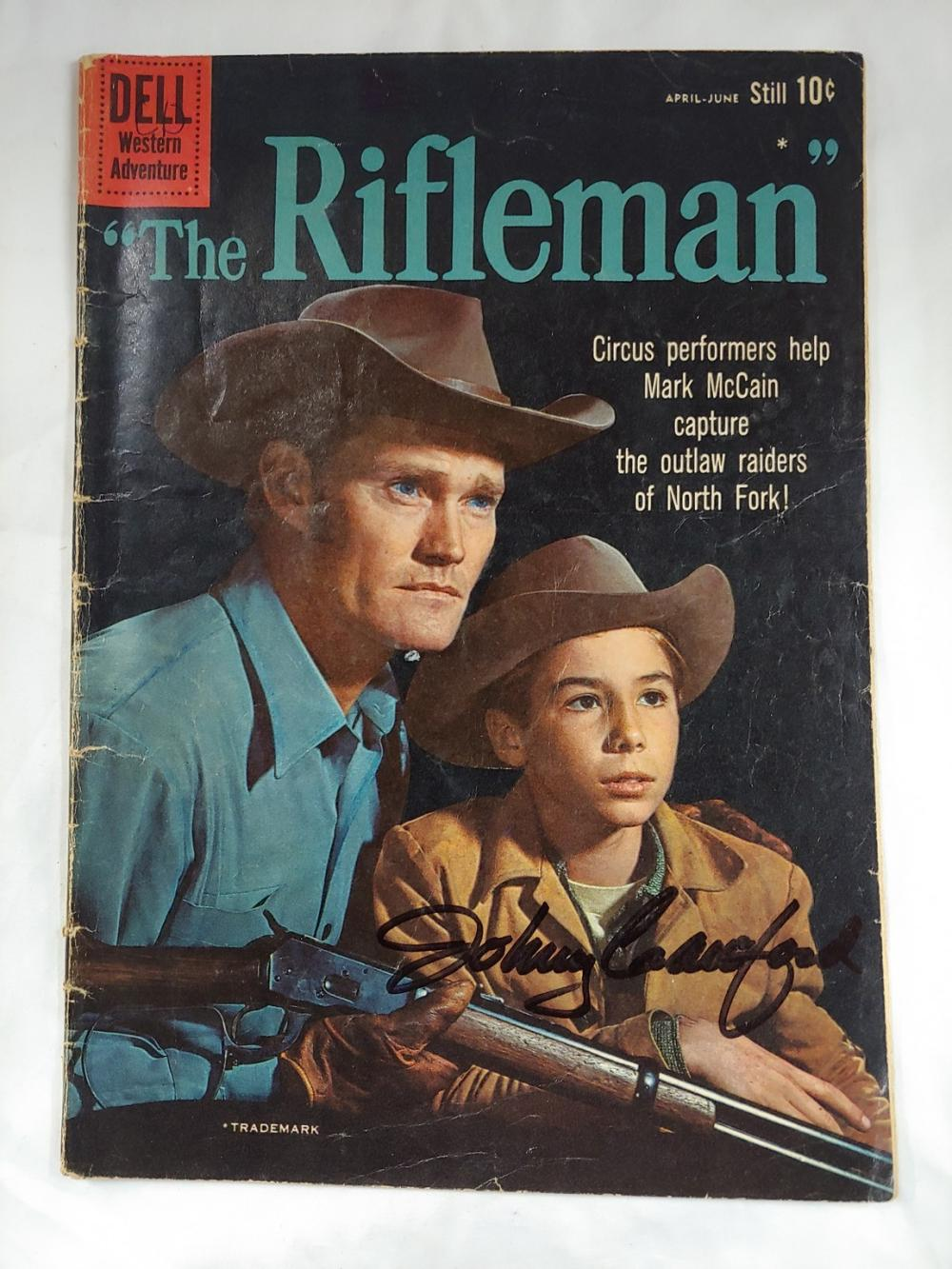 Dell: The Rifleman Signed Comic book