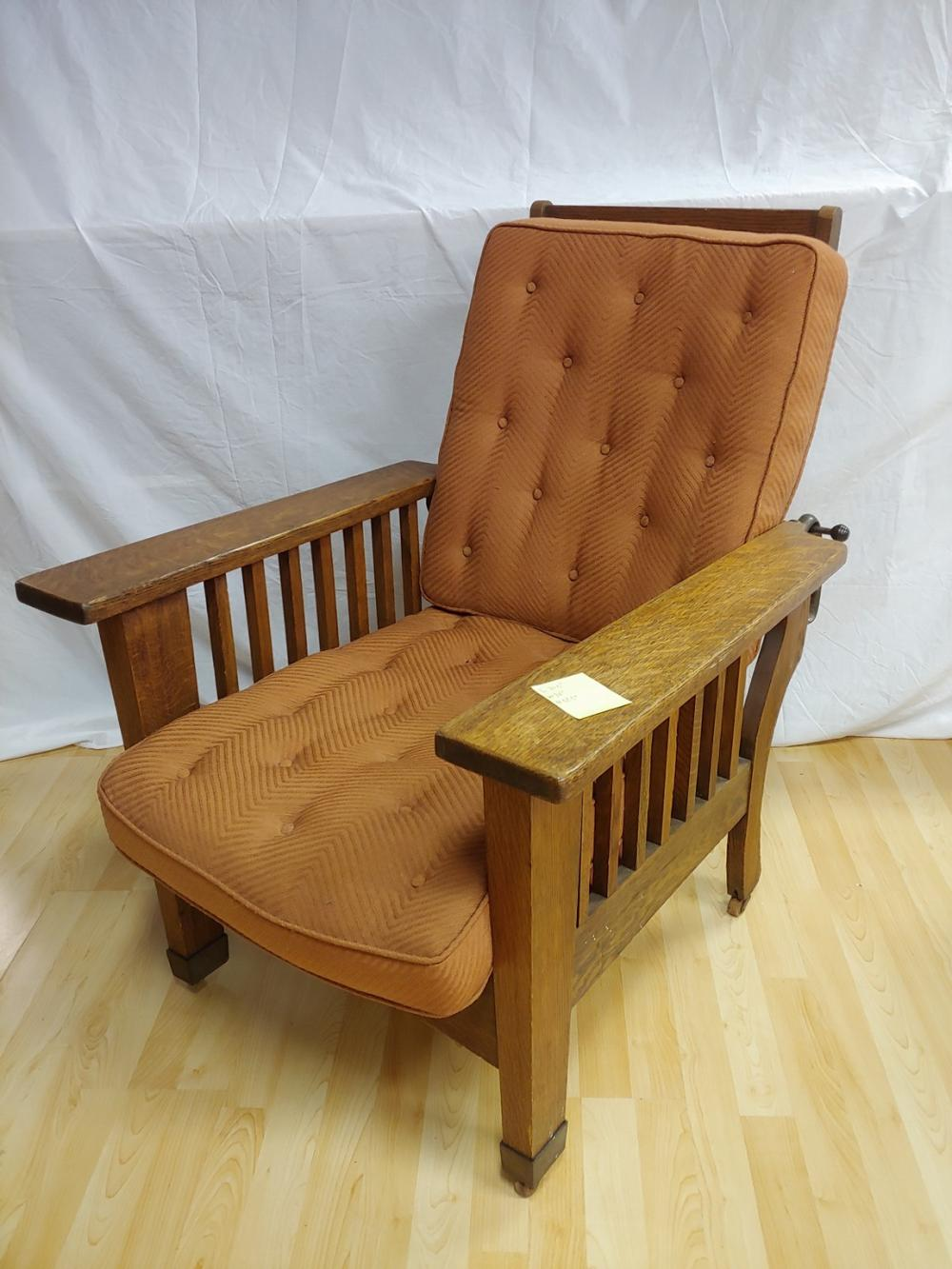 Mission Style Morris Wing Chair