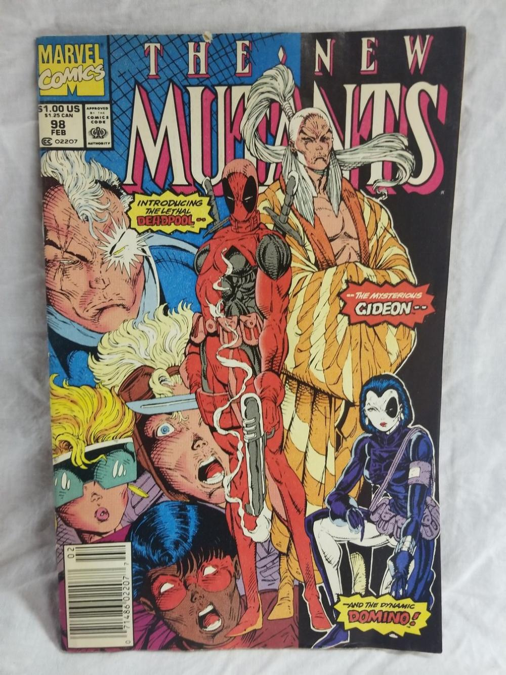 The New Mutants Volume 1 Issue 98
