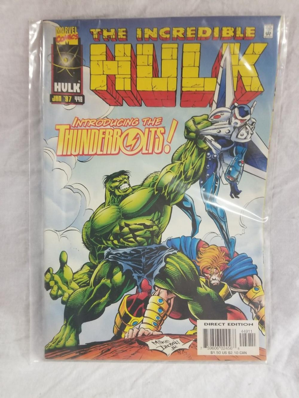 The Incredible Hulk Volume 2 Issue 449