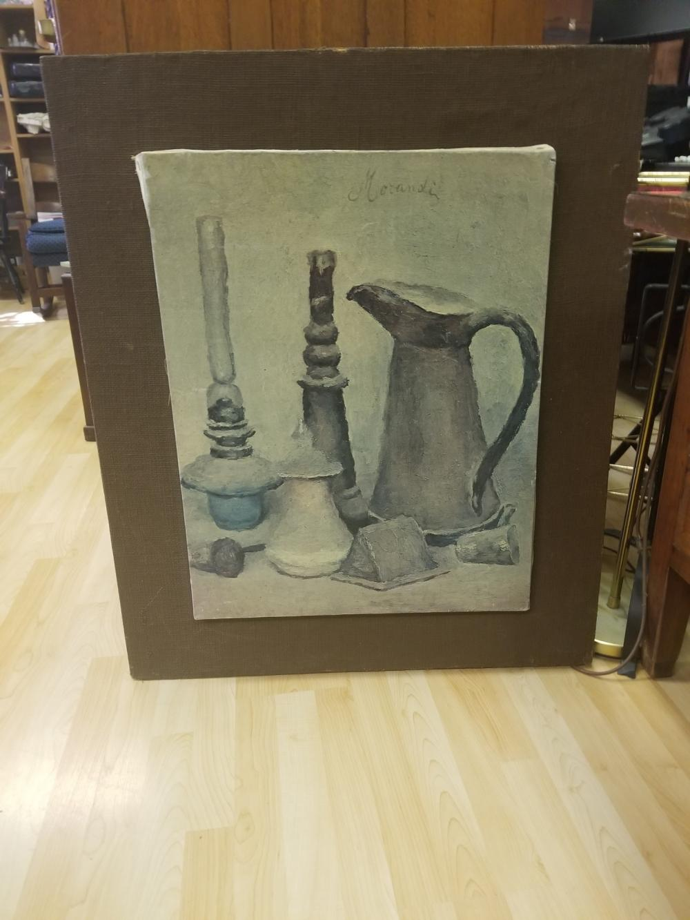 Museum Quality Reproduction of a Still Life by Morandi