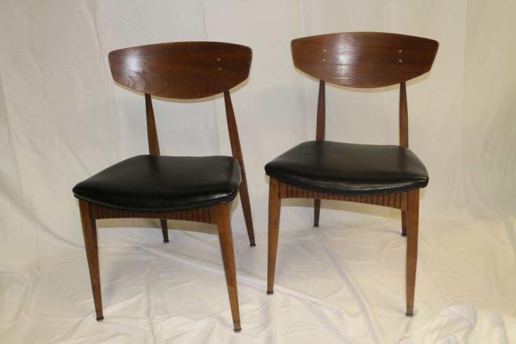 Pair Of Mid Century Modern Chairs
