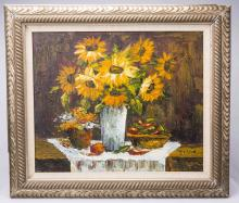 Oil Painting- Sunflowers