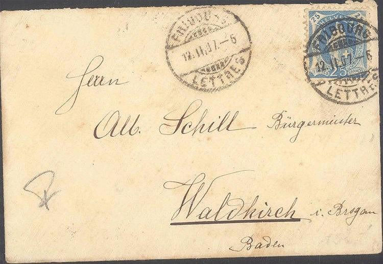 HEIMAT Baden 1907 WALDKIRCH, ALBERT SCHILL