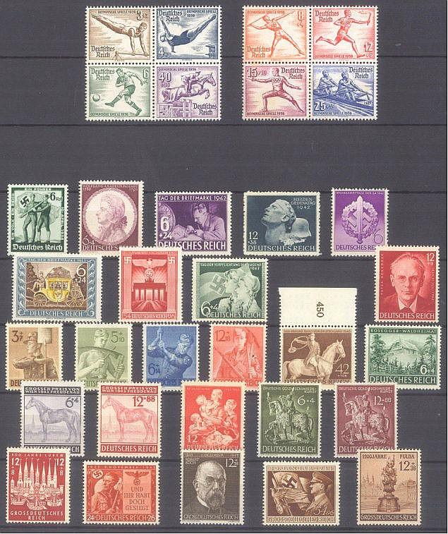 DEUTSCHES REICH 1936-1945