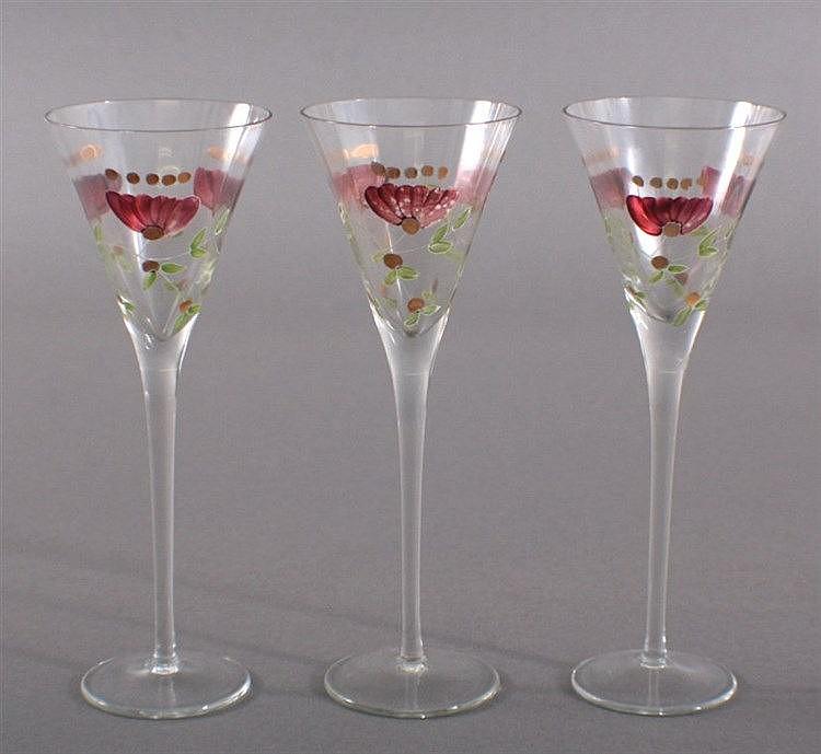 Drei Weingläser, 1900