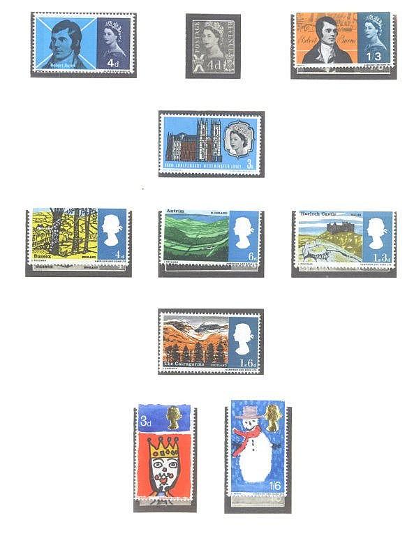 GROSSBRITANIEN 1963-1972, Katalogwert 650,- Euro