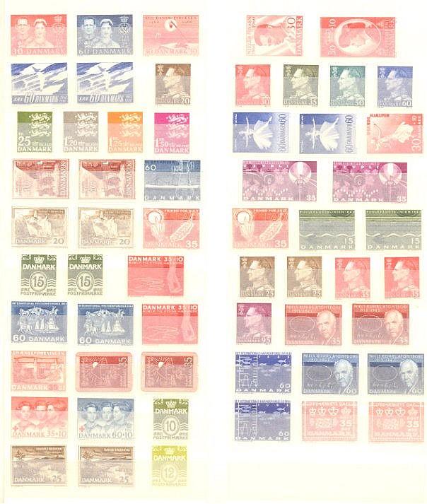 DÄNEMARK 1960-1964, Katalogwert 120,- Euro
