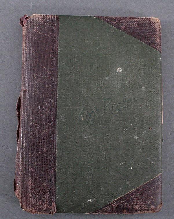 Kochbuch um 1900