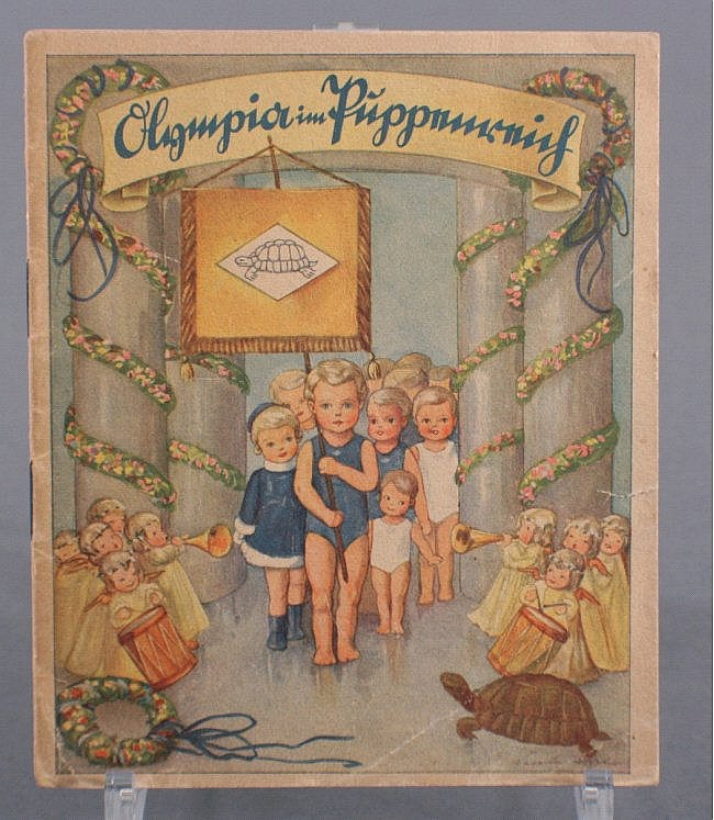 Schildkröt Reklameheft- Olympia im Puppenreich