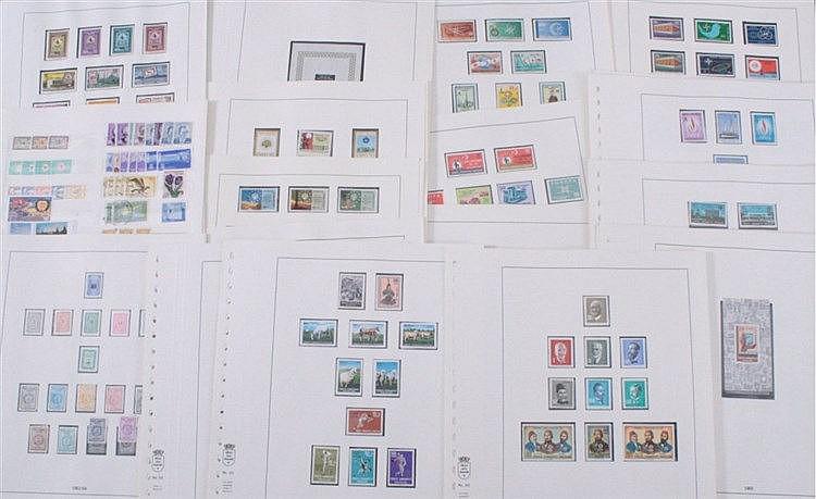 TÜRKEI 1963-1970, Katalogwert 440,- Euro