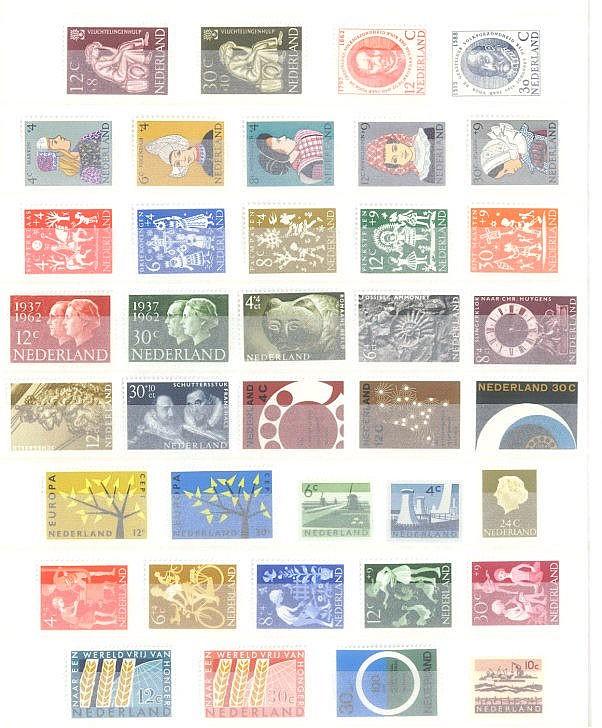 NIEDERLANDE 1962-1970, Katalogwert fast 430,- Euro