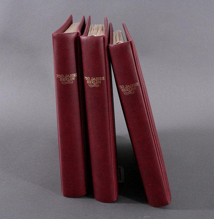 MOTIV 750 JAHRE BERLIN, 3 bändige Sammlung