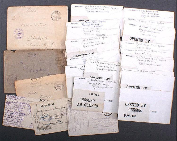 1917 KRIEGSGEFANGENENPOST I.Weltkrieg,HOLYPORT Great Britain