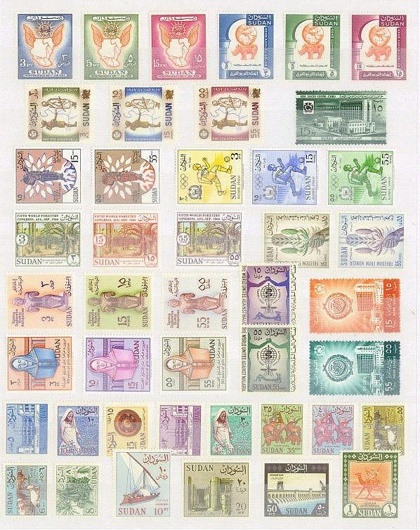 SUDAN 1956 bis 1966, ab UNABHÄNGIGE REPUBLIK
