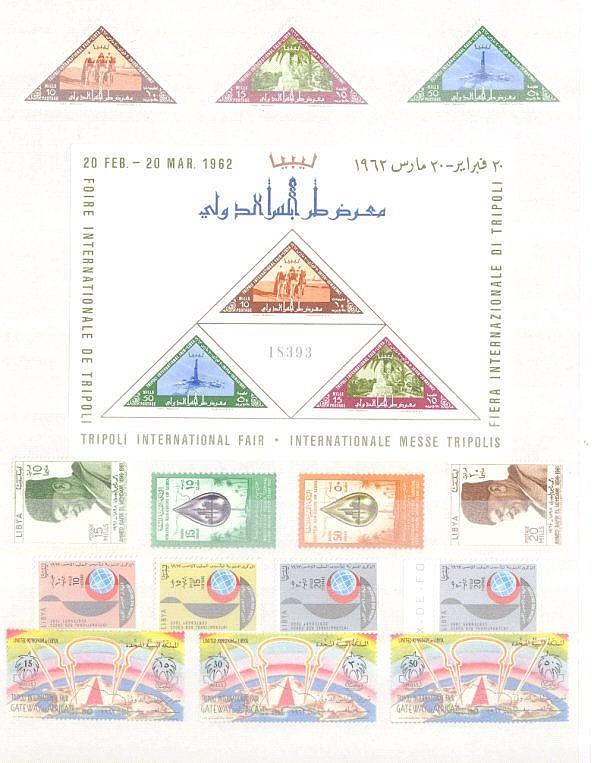 LIBYEN 1962 bis 1966
