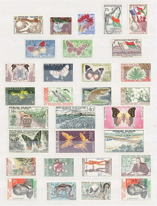 MADAGASKAR 1958 bis 1966, ab AUTONOMIE