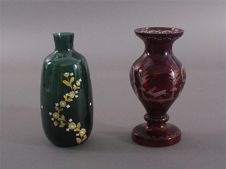 Zwei Glasvasen