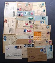 FRANZÖSISCHE BESATZUNGSZONE RHEINL.-PFALZ 1946-49, Belegelot
