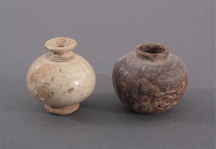 2 kleine Balustervasen