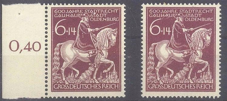 1945 DEUTSCHES REICH, Stadtrechte Oldenburg