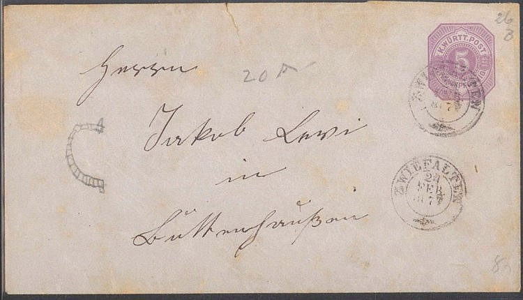 MOTIV JUDAICUM, BUTTENHAUSEN (Münsingen) 1877