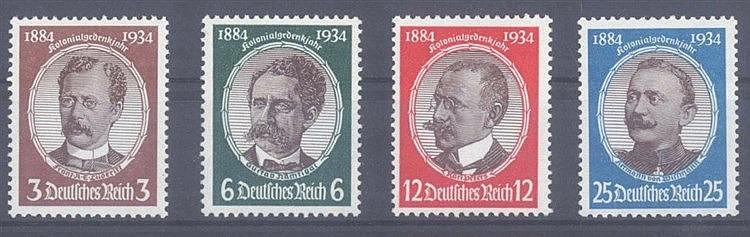 1934 DEUTSCHES REICH, Kolonialgedenkfeier