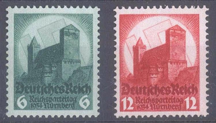 1934 DEUTSCHES REICH, Reichsparteitag Nürnberg