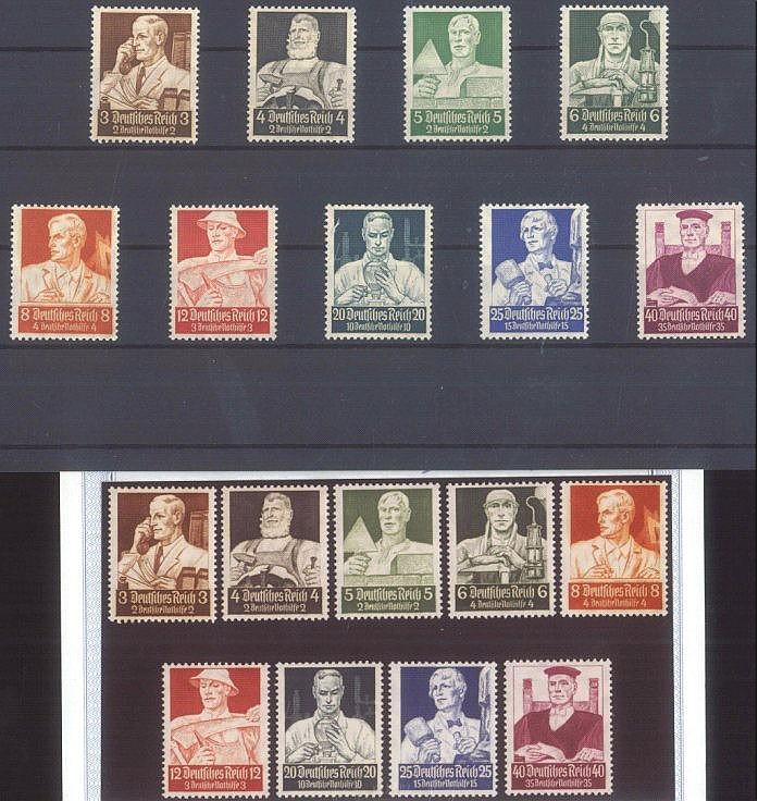 1934 DEUTSCHES REICH, Nothilfe - Berufsstände