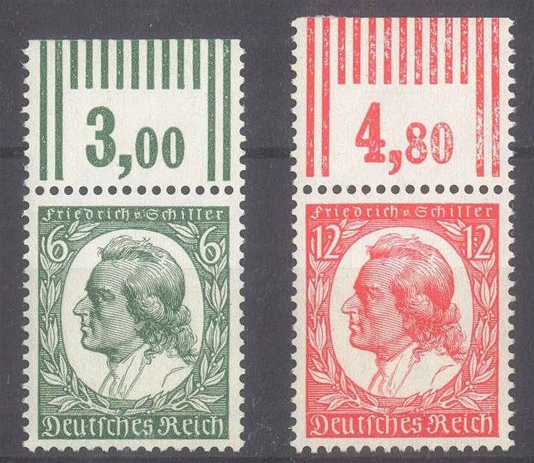 1934 DEUTSCHES REICH, Friedrich von Schiller