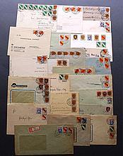 FRANZÖSISCHE BESATZUNGSZONE 1946-1947, Belegelot