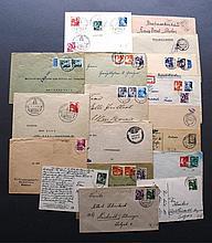 FRANZÖSISCHE BESATZUNGSZONE BADEN 1946-1949, Belegelot