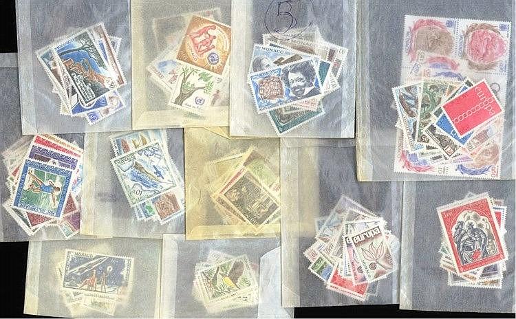 MONACO 1962-1972, Katalogwert 390,- Euro