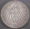Kaiserreich, 3-DM Silbermünze Wilhelm II 1914