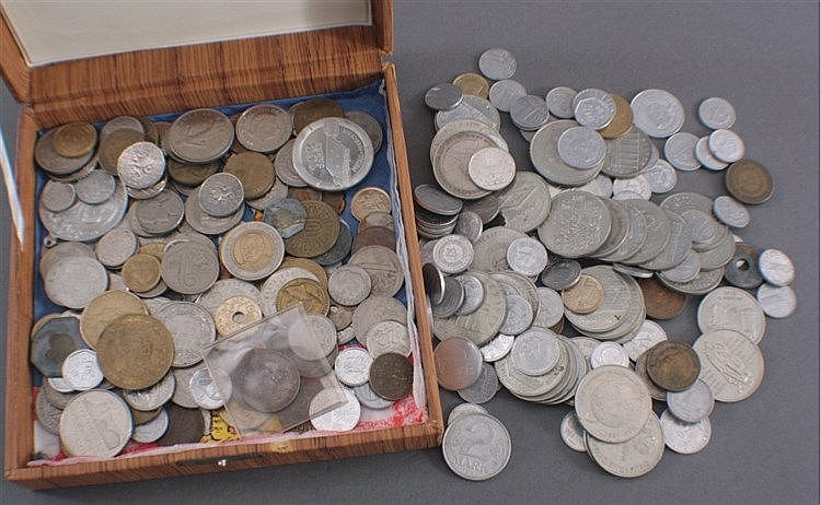Konvolut Münzen alle Welt